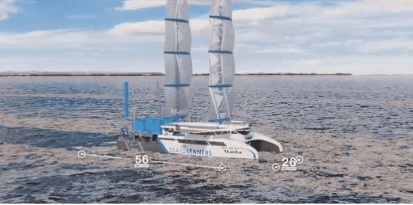 海洋救星 这首船可以清理海洋垃圾