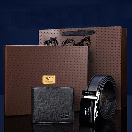 七匹狼钱包皮带礼盒1