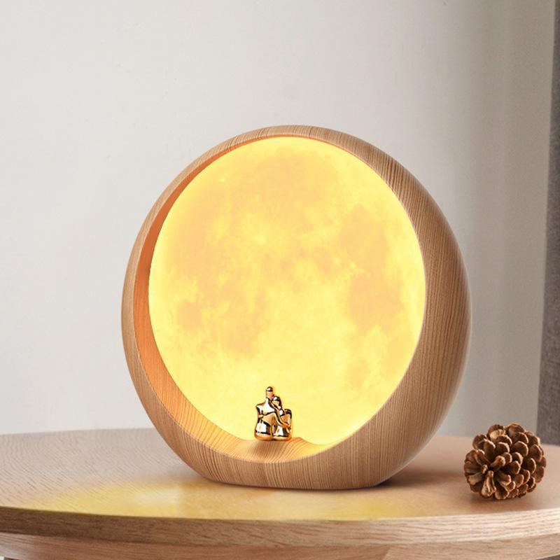 创意月亮小夜灯3