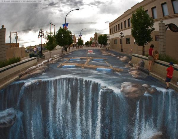 壮观的巨型街头涂鸦