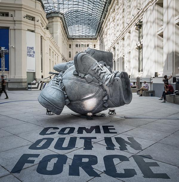 Nike 概念雕塑