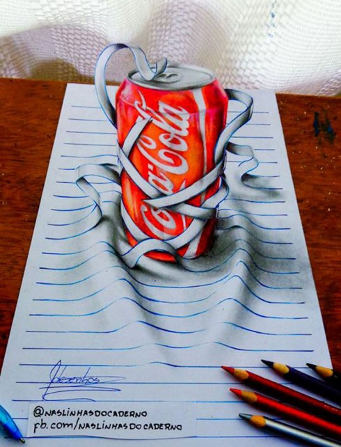 16岁少年的3D绘画