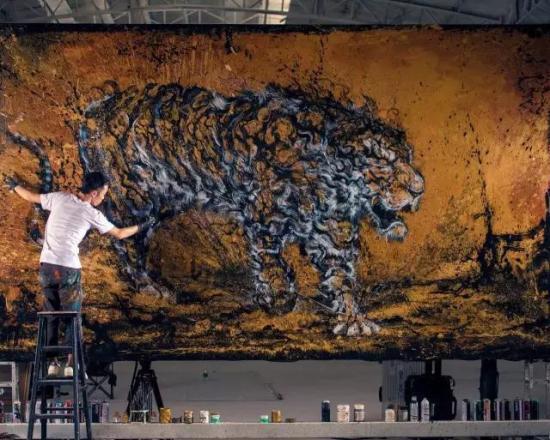 """这位顺德80后小伙创作""""中式涂鸦""""惊艳全球"""