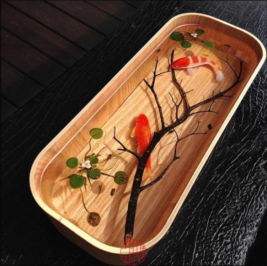 """这位日本人画了12年金鱼 竟把金鱼画""""活""""了"""