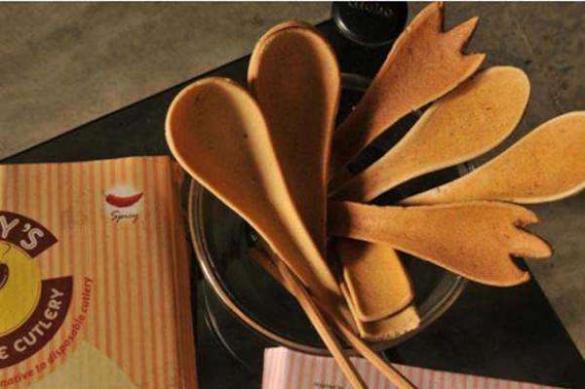 意大利奶农用牛粪制作成餐具 获米兰设计周创意奖
