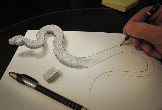 铅笔绘画 简直以假乱真
