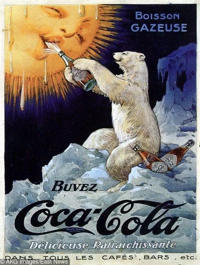 上世纪的大牌食品海报广告