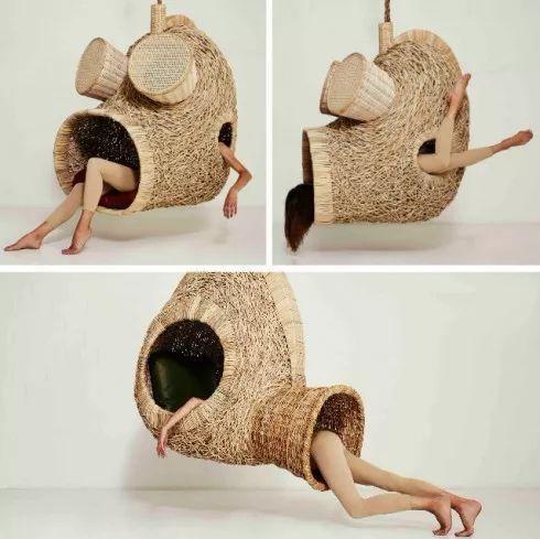 模仿动物造型的狂野吊床设计