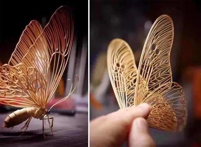 日本大叔超逼真昆虫模型 连博物馆都用来展览